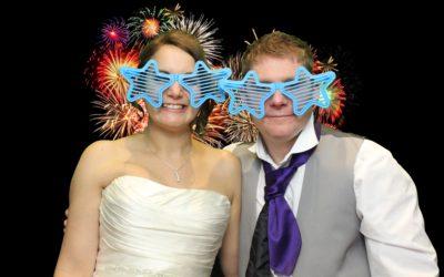 Kyla & Steve's wedding reception at the Burford Bridge Hotel