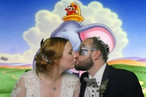 The bride and groom enjoying a quiet moment - Rockbeare Manor photo booth hire