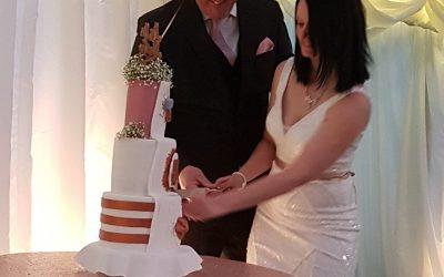 Erin & Geoff's wedding celebrations at the Coppleridge Inn, Shaftesbury