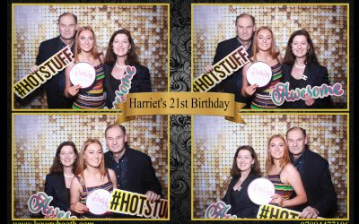 21st birthday party celebrations with our Mirror photo booth