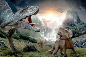 A dinosaur!
